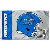 MTSU Blue Raiders Helmet Flag