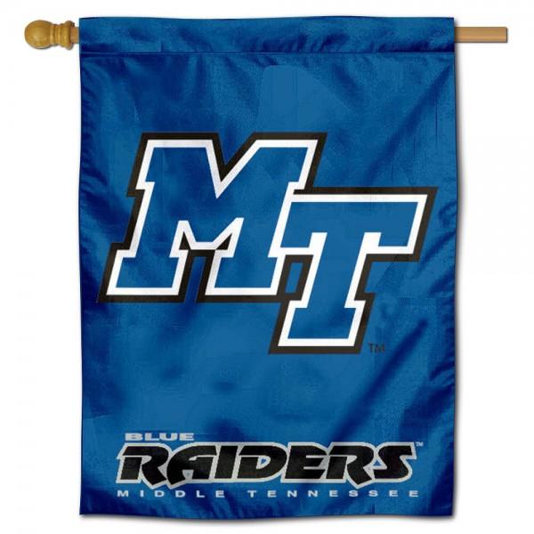 MTSU Blue Raiders House Flag