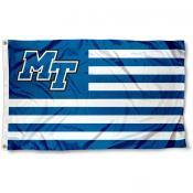 MTSU Blue Raiders Nation Flag