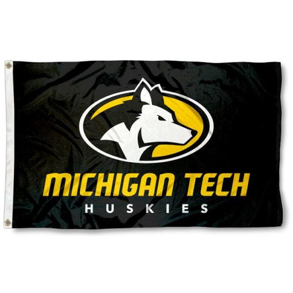 MTU Huskies 3x5 Foot Flag