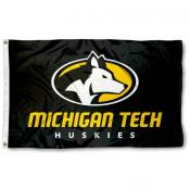 MTU Huskies 3x5 Foot Flag