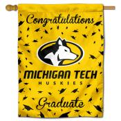 MTU Huskies Graduation Banner