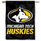 MTU Huskies House Flag