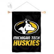 MTU Huskies Small Wall and Window Banner