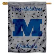 MU Big Blue Graduation Banner