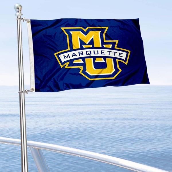 MU Golden Eagles Boat Nautical Flag