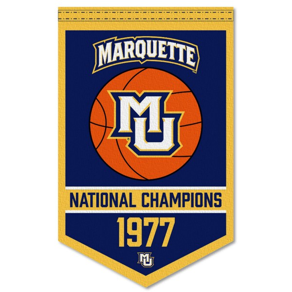 MU Golden Eagles College Basketball National Champions Banner