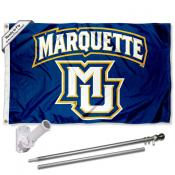 MU Golden Eagles Flag and Bracket Flagpole Kit