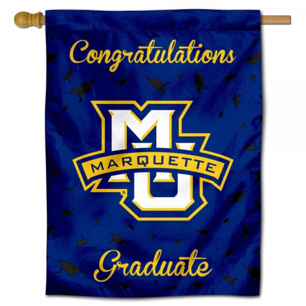 MU Golden Eagles Graduation Banner