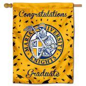 MU Knights Graduation Banner