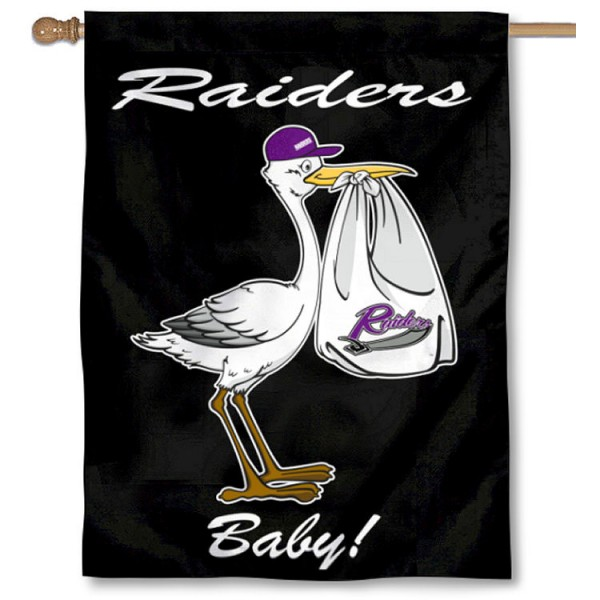 MU Purple Raiders New Baby Banner