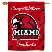 MU Redhawks Graduation Banner