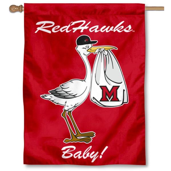 MU Redhawks New Baby Banner