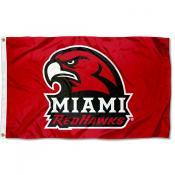 MU Redhawks New Logo Flag