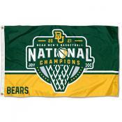 National Champions 2021 College Basketball Baylor Bears 3x5 Foot Flag