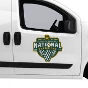 National Champions Jumbo Logo Car Magnet for Baylor Bears