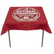 National Champions Tablecloth for Alabama Crimson Tide