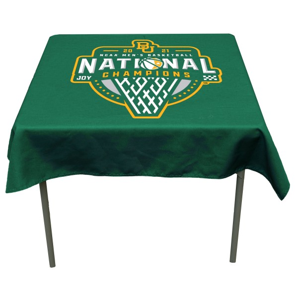 National Champions Tablecloth for Baylor Bears