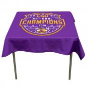 National Champions Tablecloth for LSU Tigers