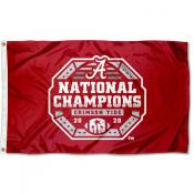 National Football Champions 2020 2021 Alabama Crimson Tide 3x5 Foot Flag