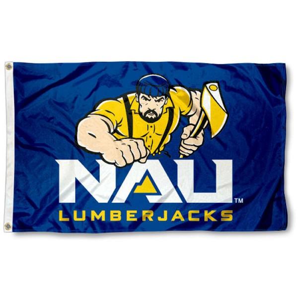 NAU Lumberjacks Flag