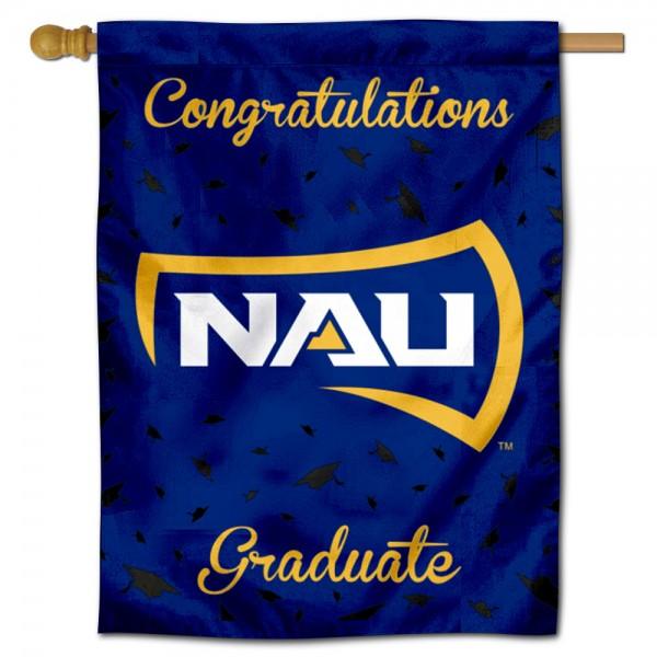 NAU Lumberjacks Graduation Banner