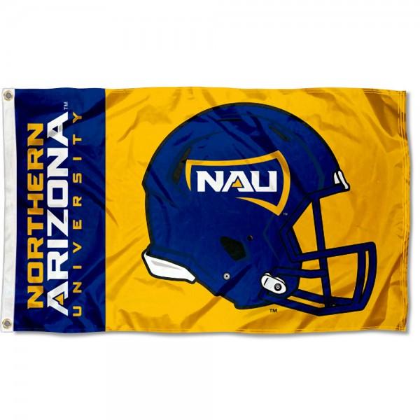 NAU Lumberjacks Helmet Flag