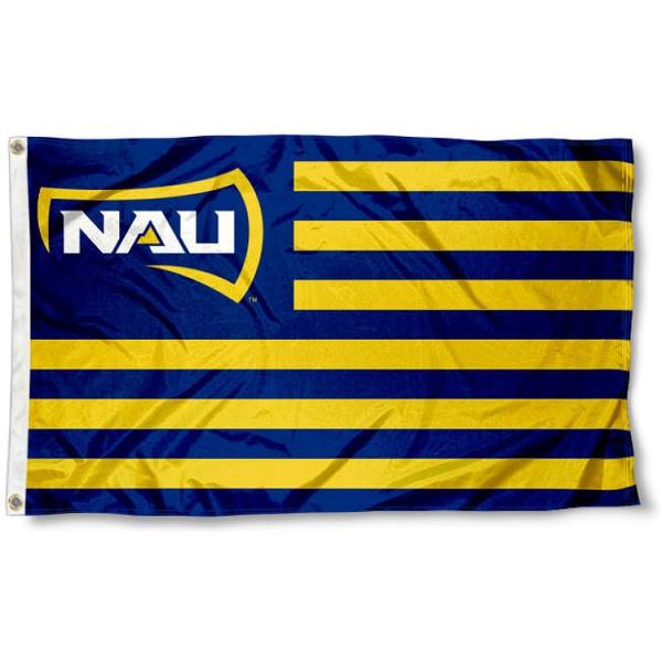 NAU Lumberjacks Nation Flag