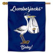 NAU Lumberjacks New Baby Banner