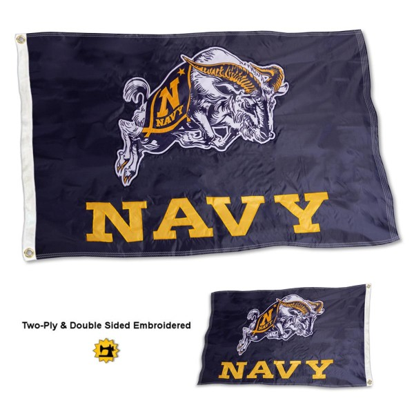 Navy Academy Flag - Stadium