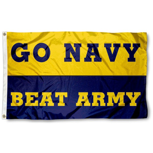 Navy beat Army Flag
