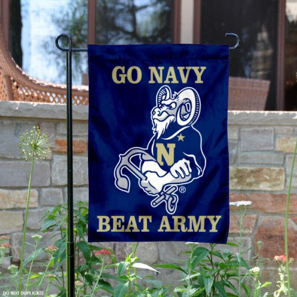 Navy Beat Army Garden Flag
