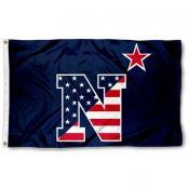 Navy Midshipmen 3x5 Foot Stars and Stripes Design Flag