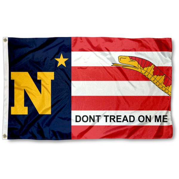 Navy Midshipmen 3x5 Foot Stripes Flag