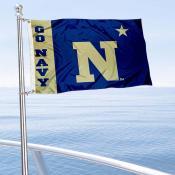Navy Midshipmen Boat Flag