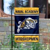 Navy Midshipmen Garden Flag