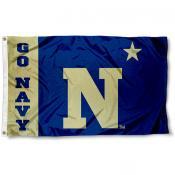 Navy Midshipmen Go Navy Flag