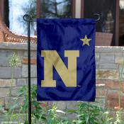 Navy Midshipmen N-Star Garden Flag