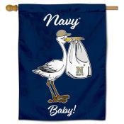 Navy Midshipmen New Baby Banner