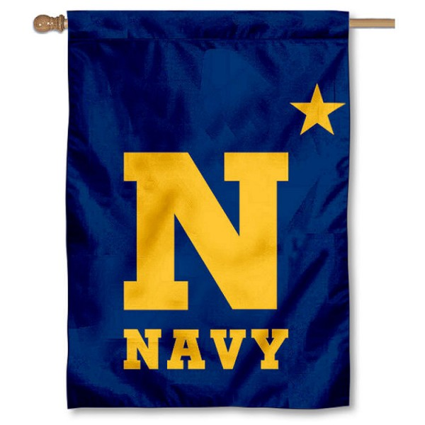Navy Midshipmen Star House Flag