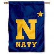 Navy Midshipmen Star House Flag
