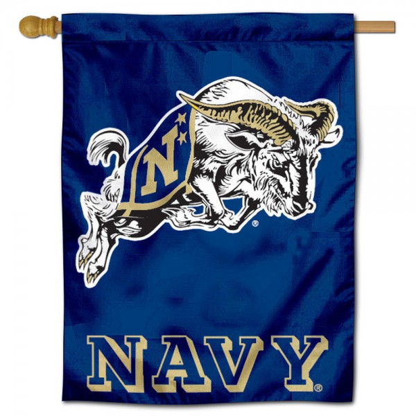 Navy Polyester House Flag