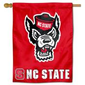 NC State Polyester House Flag
