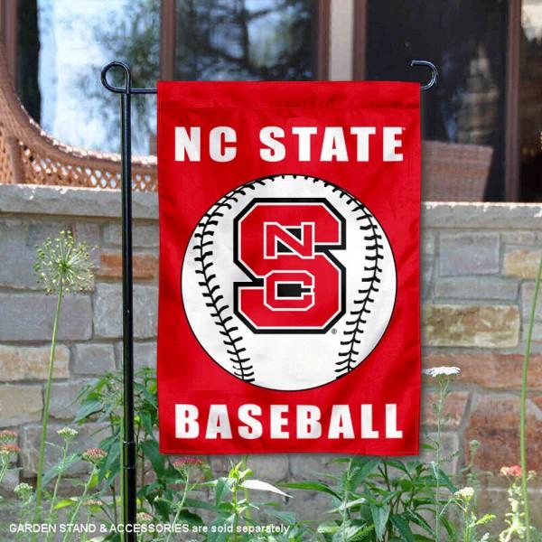 NC State Wolfpack Baseball Garden Flag
