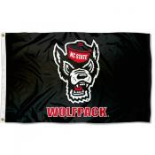 NC State Wolfpack Black Outdoor Flag