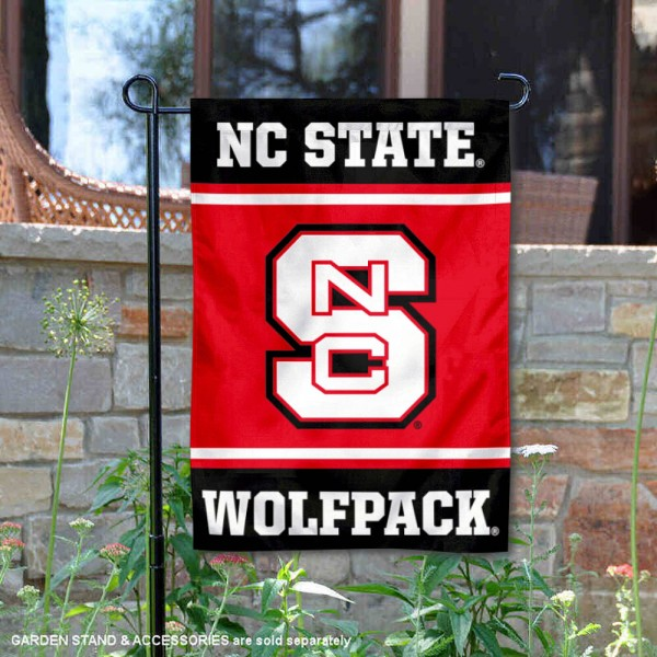 NC State Wolfpack Garden Flag