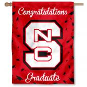 NC State Wolfpack Graduation Banner