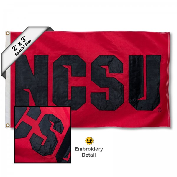 NCSU Wolfpack 2x3 Flag