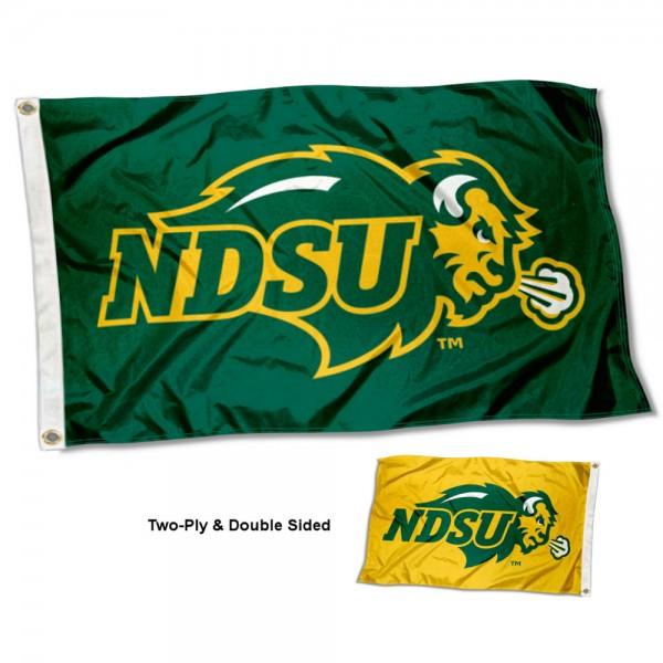 NDSU Bison Dual Logo Flag