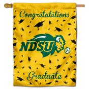 NDSU Bison Graduation Banner
